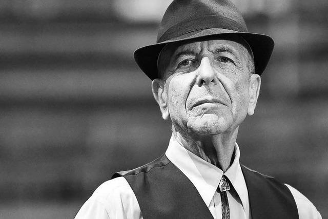 Songwriter-Ikone Leonard Cohen im Alter von 82 Jahren gestorben