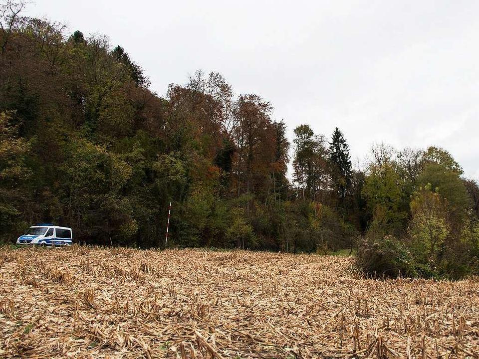Die Leiche von Carolin Gruber wurde in einem Waldstück bei Endingen gefunden.  | Foto: dpa