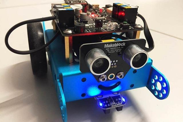 Roborave: Roboter flitzen in Lörrach um die Wette