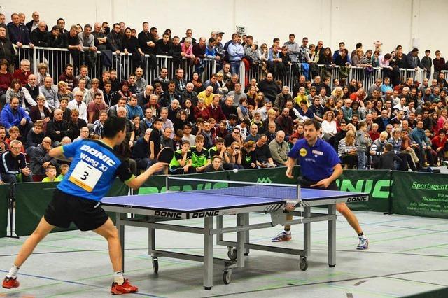 Tischtennis-Gala der absoluten Weltklasse