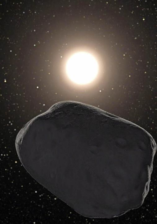 Findet auf diesem Asteroiden  der nächste Goldrausch statt?   | Foto: DPA