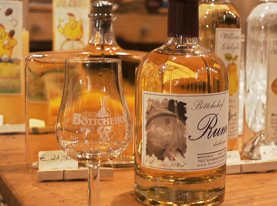 Rum vom Böttcherhof  | Foto: Robin Wille