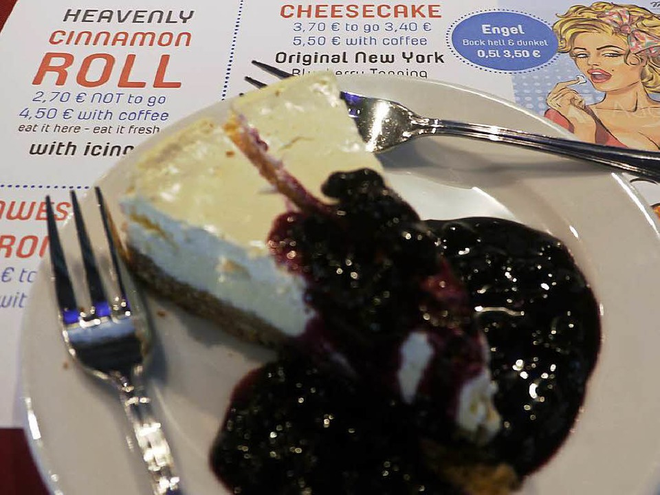 Wie in den USA: NY Cheesecake  | Foto: Robin Wille