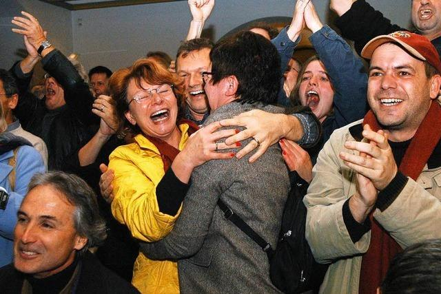 Vor 10 Jahren verhinderten die Freiburger den Verkauf der städtischen Wohnungsgesellschaft