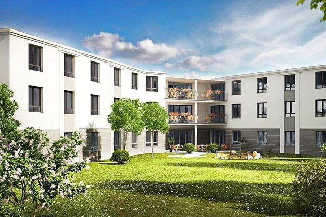 In Kollmarsreute entsteht ein neues Pflegeheim
