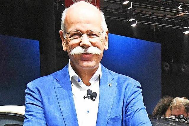 Daimler-Chef Zetsche lehnt verbindliches Datum für Aus des Verbrennungsmotors ab