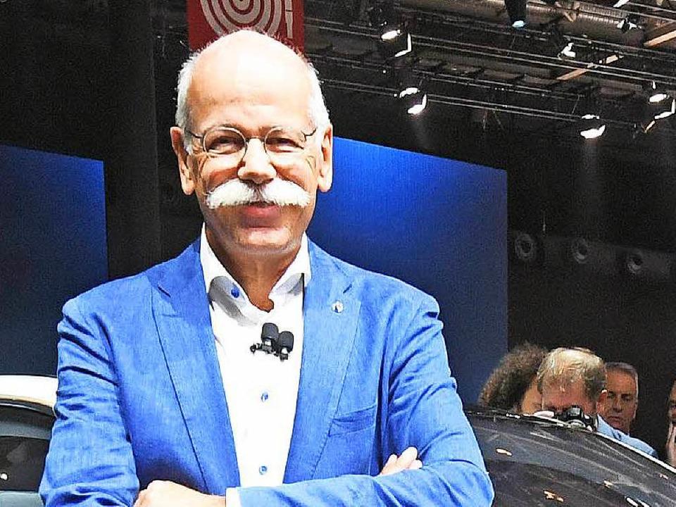 Dieter Zetsche, Vorstandsvorsitzender der Daimler AG (Archivbild)  | Foto: dpa