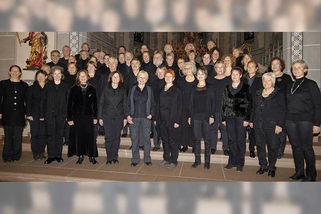 Kammerchor Staufen in der Kath. Kirche Bad Krozingen und Staufen