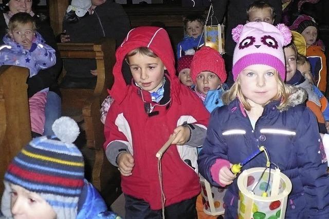 St. Martin: Kinder teilen ihre Martinswecken