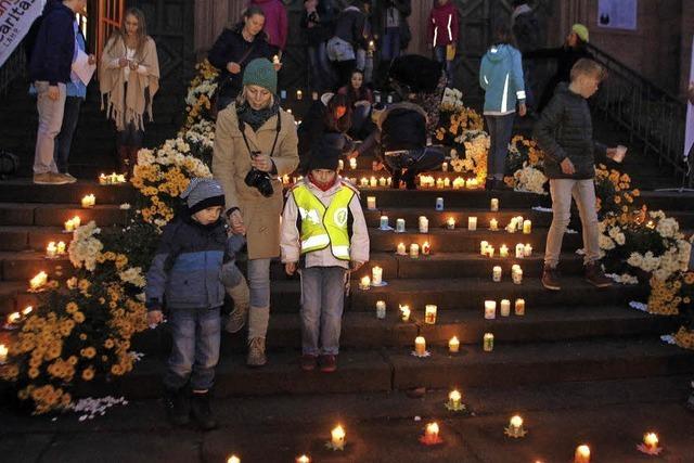 Caritas-Aktion: Eine Million Sterne