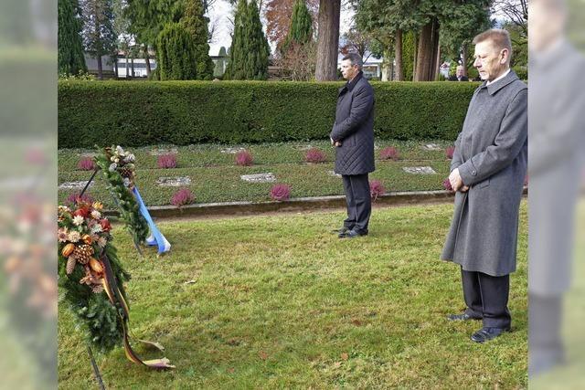 Erinnerung an die Kriegstoten