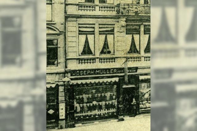 Fast 100 Jahre lang gab es das Kleiderhaus Joseph Müller