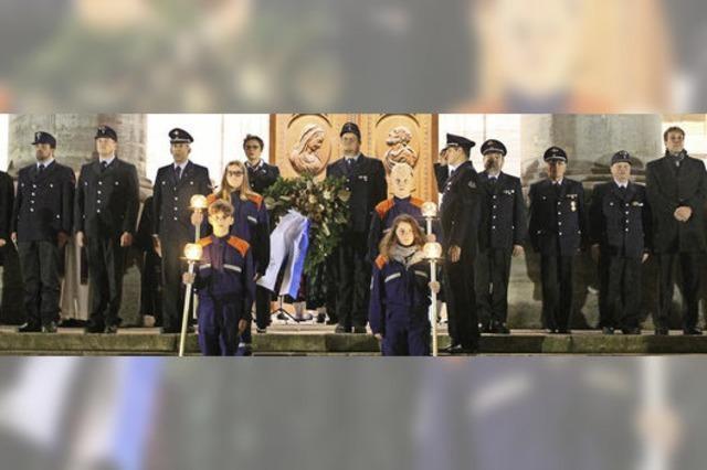 Gemeinsames Gedenken an die Opfer der Kriegswirren
