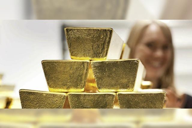 Die Deutschen lieben Gold
