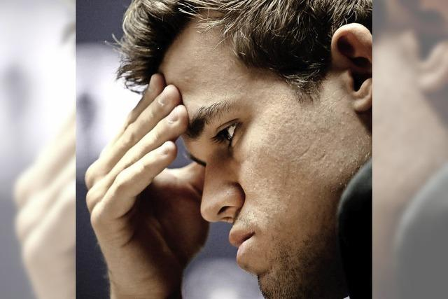 Carlsen wählt nur einmal