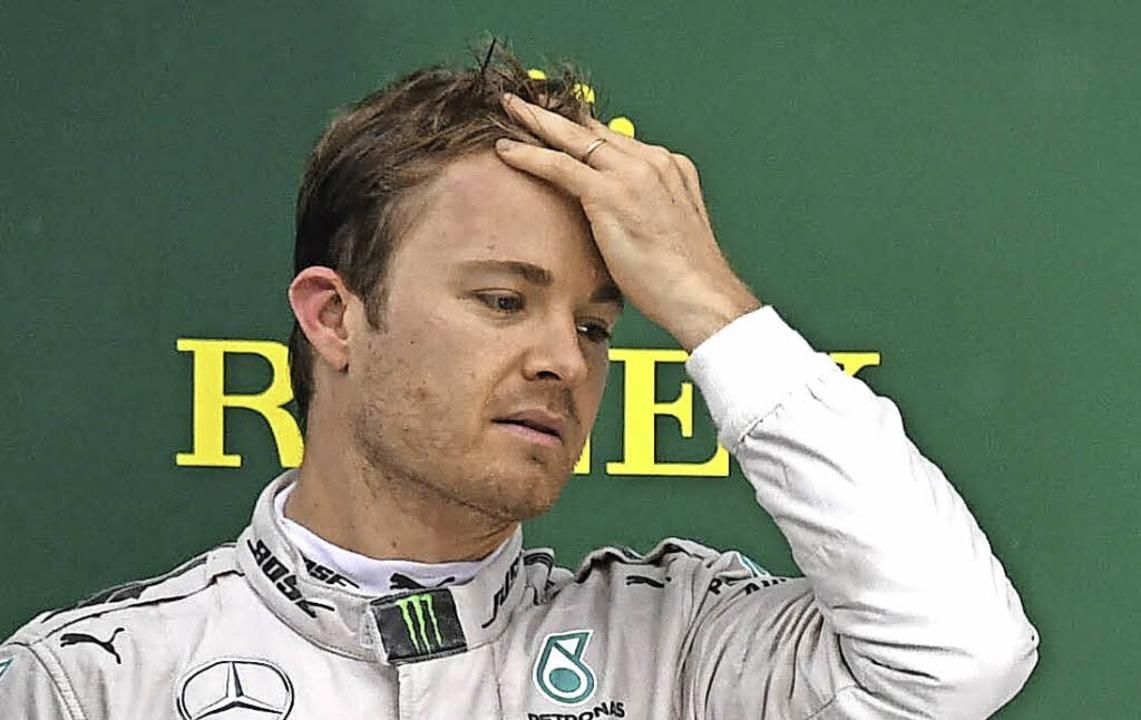 Weiter in der Weltmeister-Warteschleife: Nico Rosberg   | Foto: afp