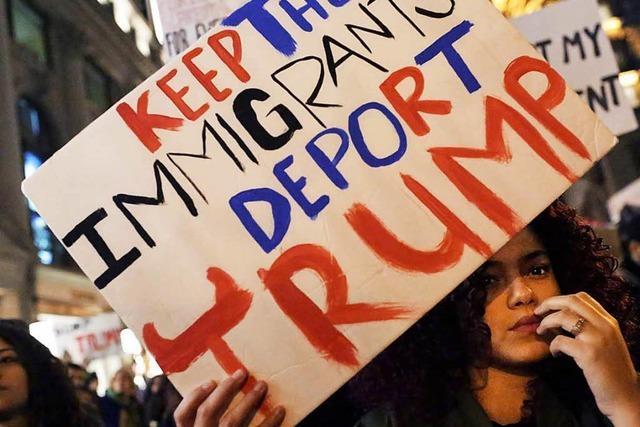 Neue Proteste gegen Donald Trump in den USA