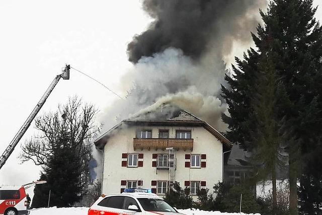 300.000 Euro Schaden beim Brand der