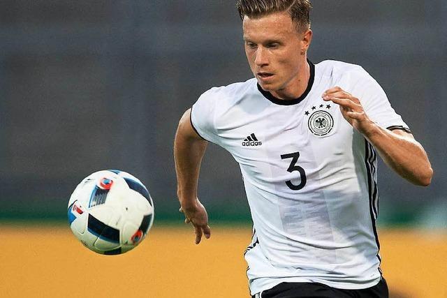 Nationalelf: Gerhardt ist gegen Italien gesetzt