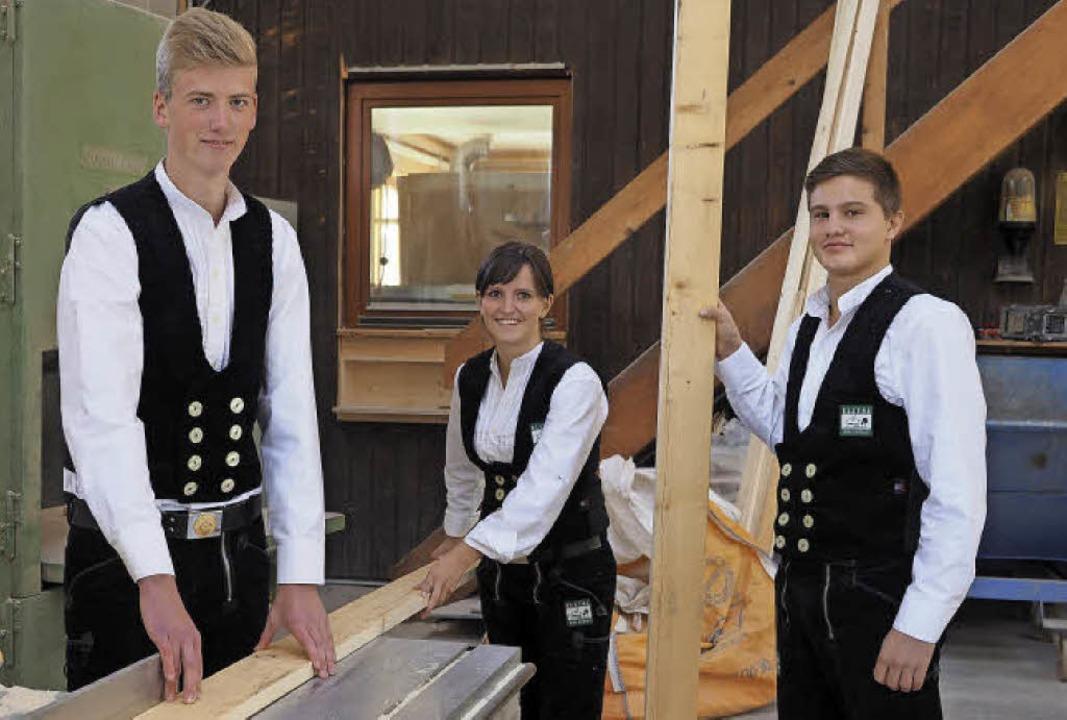 Mögen ihr Handwerk (von links): Sven Bauer, Lisa Göppert und Matthias Zehnle.   | Foto: Susanne Gilg