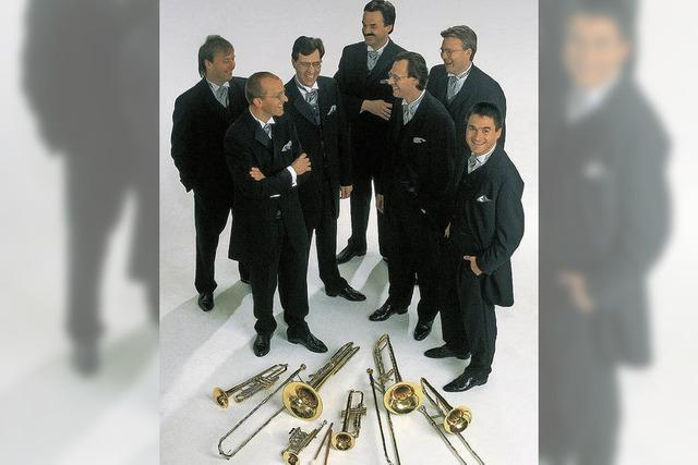Blechbläsersextett Ensemble Classique gastiert in der Stadthalle Wehr