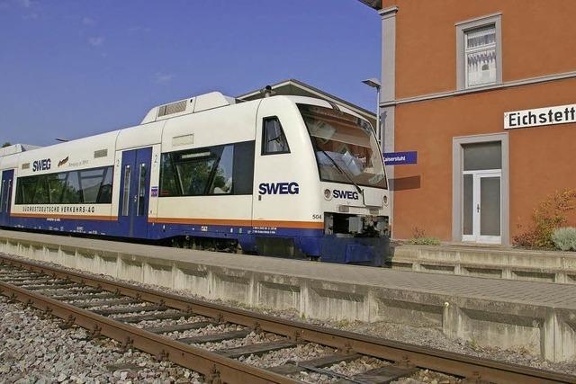 Kaiserstuhlbahn Ost: SWEG hat nun Baurecht