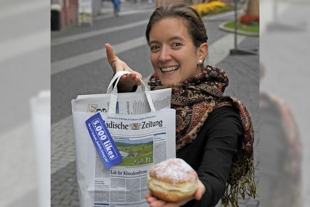 Die BZ verteilt Berliner