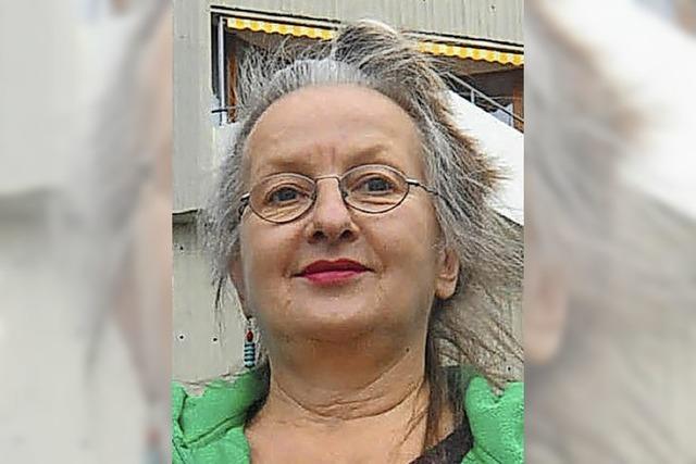 Isolde Wawrin singt in Offenburg ihr Programm