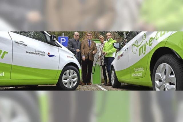 E-Autos für Gemeinde und Bürger