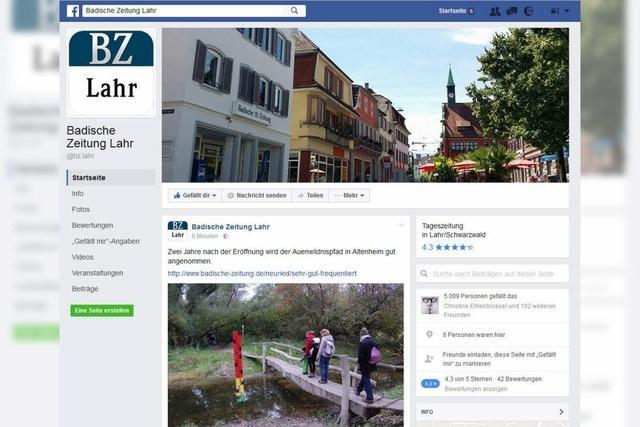 5000 Fans lesen die Lahrer BZ-News