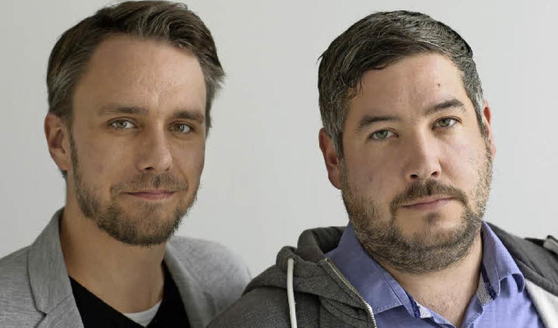 Moritz Schulz (links) und Michael Sladek  | Foto: Ingo Schneider