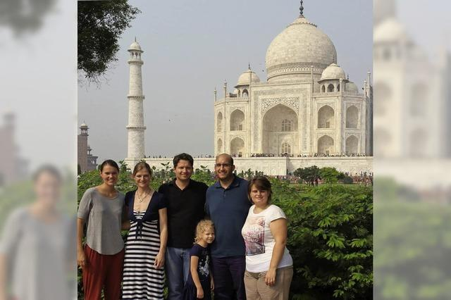 Münstertäler Musiker touren durch Indien