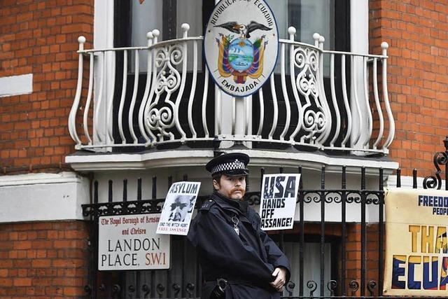 Wikileaks: Julian Assange sagt erstmals aus