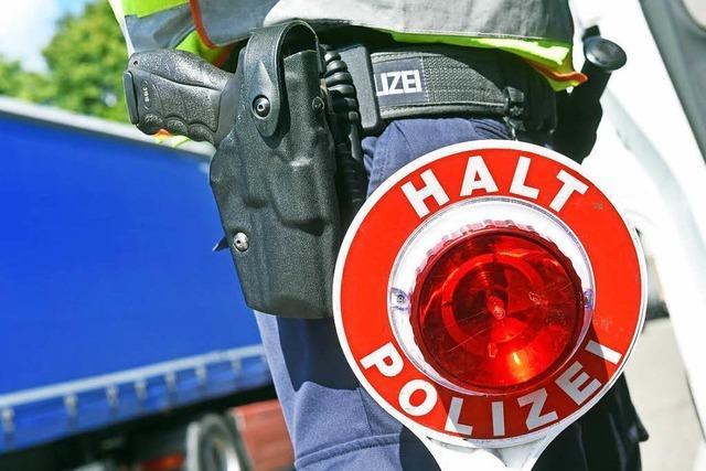 Unfallflucht auf dem Parkplatz bei der Agentur für Arbeit in Lörrach