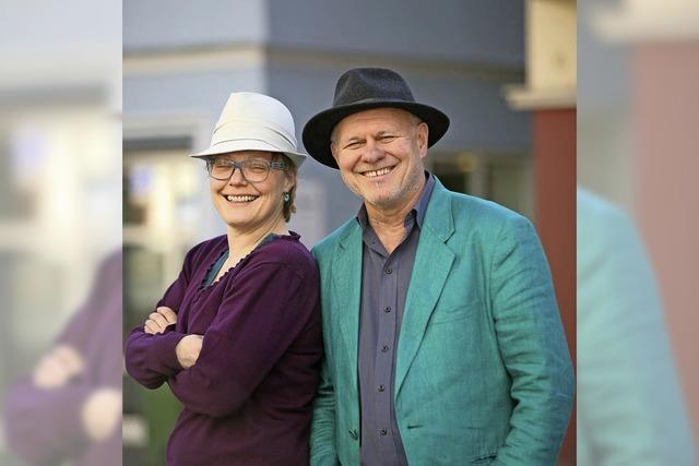Ulrike Derndinger und Heinz Siebold in Emmendingen