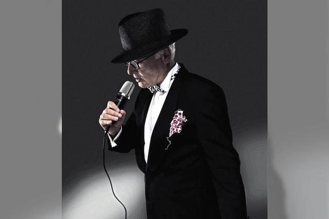 Markus Raab interpretiert Marlene Dietrich in der Rido Weinbar