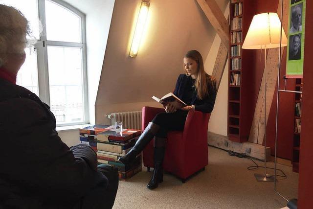 Kurzlesung in der Lörracher Stadtbibliothek