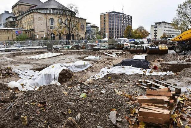 Freiburger Gemeinderat : Kein Baustopp am Platz der Alten Synagoge