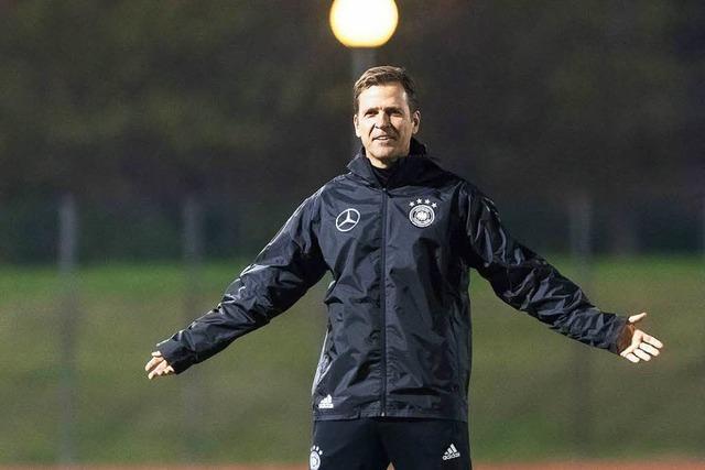 Bierhoff plant bereits die WM 2018 in Russland