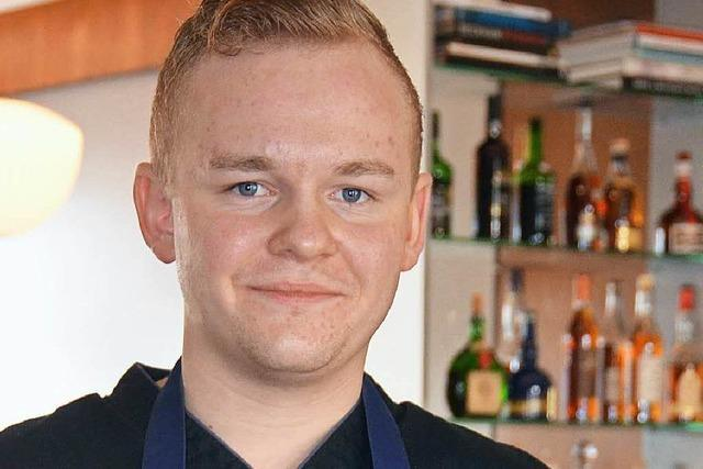 Der 23-jährige Nicolai Wiedmer überrascht die Gastroszene