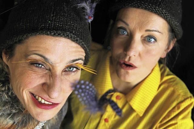 Theater Kunstdünger gibt Vorstellung für Kinder in der Stadtscheuer Waldshut