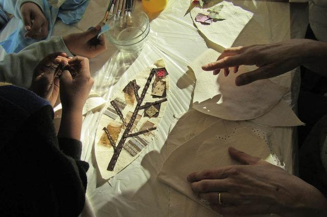 Kulturenübergreifendes Projekt der Jugendkunstschule im JBW