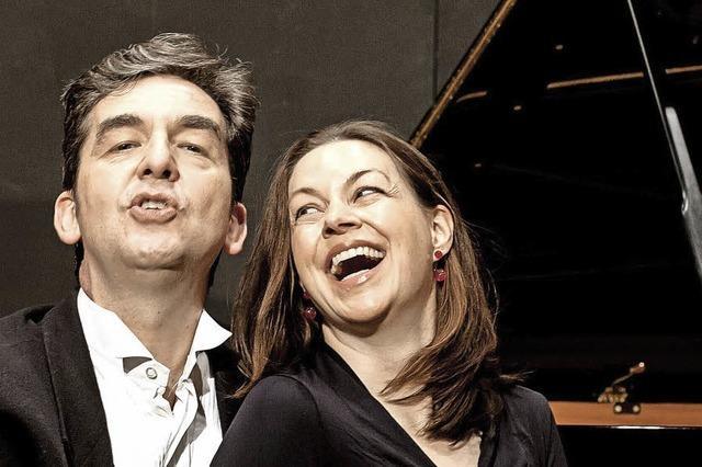 Nina Amon und Mihai Grigoriu im Forum Merzhausen