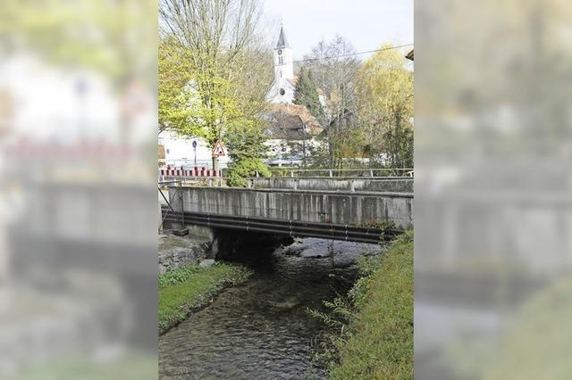 Brückenneubau hat klar Priorität