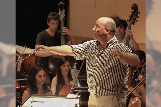 Orchesterkonzert mit Prof. Scott Sandmeier an der Musikhochschule