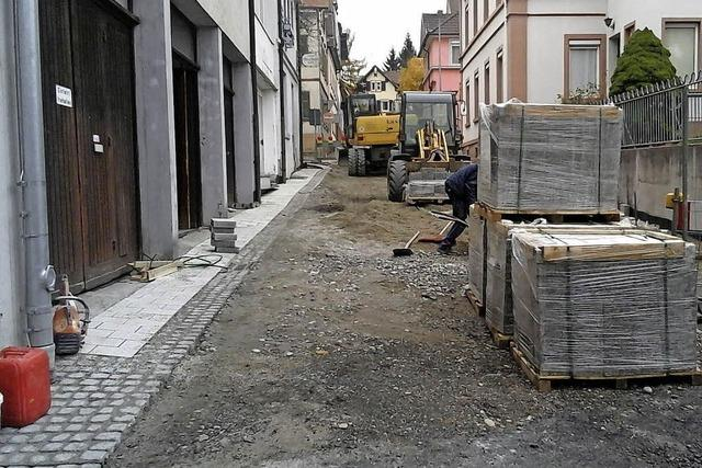 Baustelle ist bald Geschichte