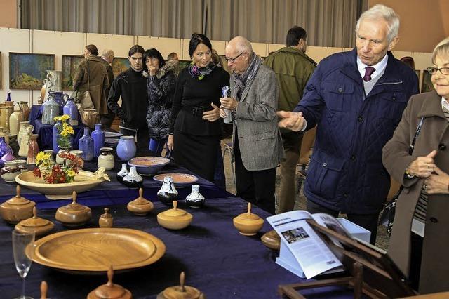 Neue Gesichter und alte Bekannte bei der Ausstellung