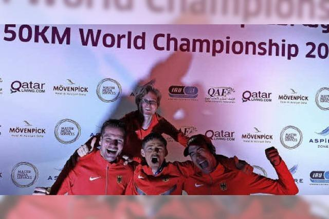 WM-Bronze im Emirat Katar