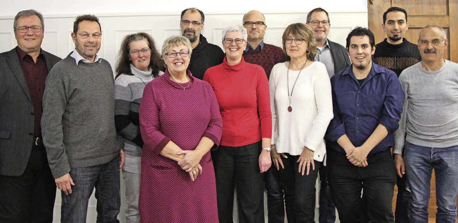 Der neue Vorstand der SPD Waldkirch, links Michael Stoltenburg.  | Foto: ZVG