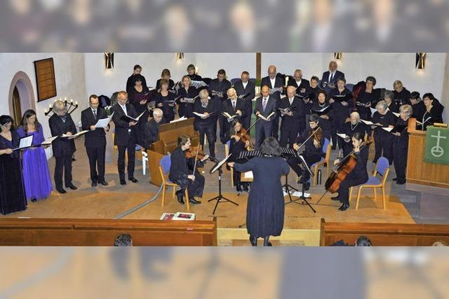 Trauer und Trost mit dem Kirchenchor